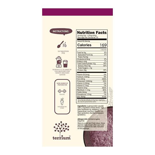 Proteina en Polvo Terrium - Berries