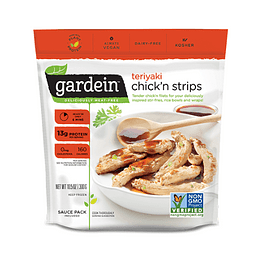 Teriyaki Chickn Strips - Gardein