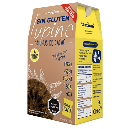 Galletas de Cacao - Terrium