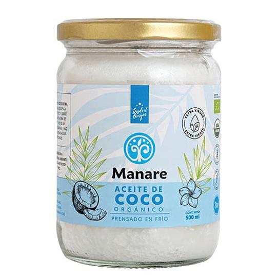 Aceite de Coco Orgánico Manare - 500ml