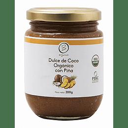 Dulce de Coco con Piña - Be Organics
