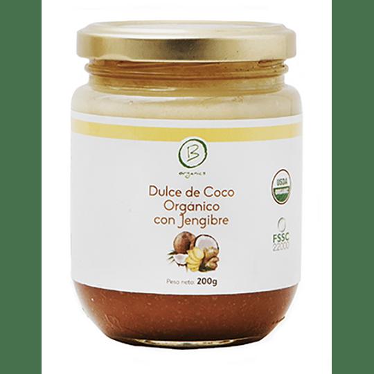 Dulce de Coco con Jengibre - Be Organics