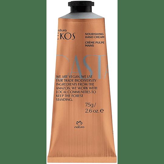 Pulpa Hidratante para Manos Castaña Ekos 75g - Natura