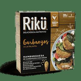Hamburguesas Riku - Garbanzos
