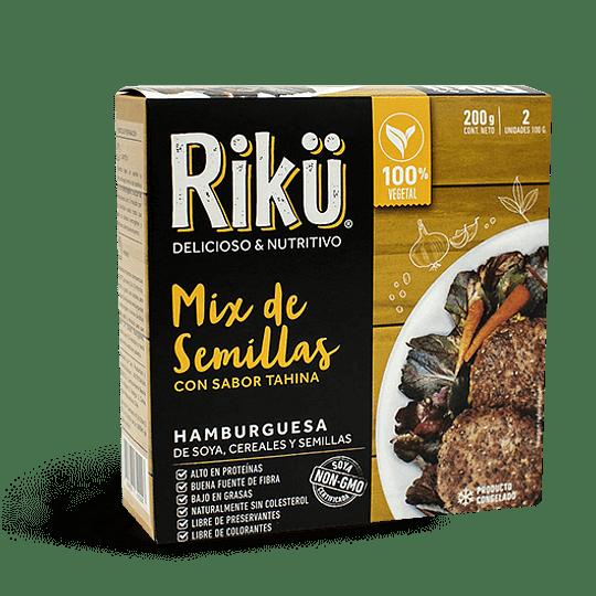 Hamburguesas Riku - Mix de Semillas