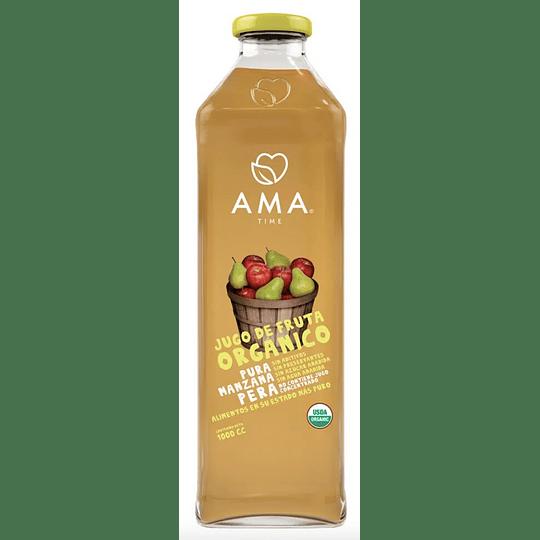 Jugo orgánico AMA 1 Litro - Pera Manzana