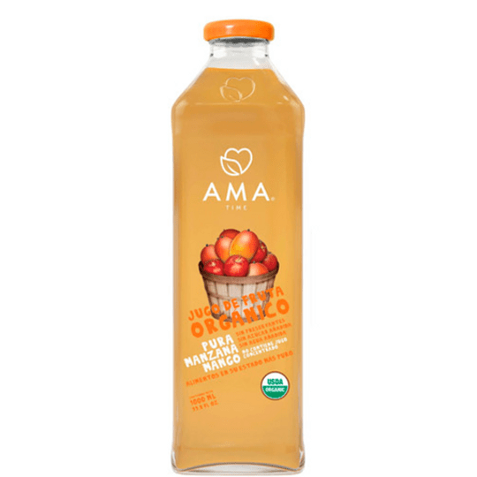 Jugo orgánico AMA 1 Litro - Manzana Mango