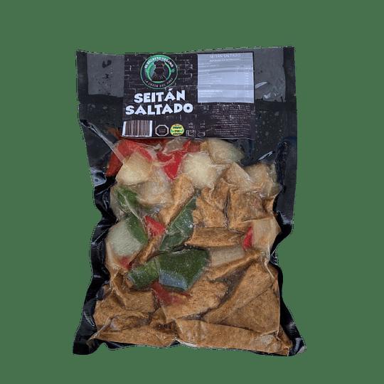 Seitan Saltado - El Secreto Vegano
