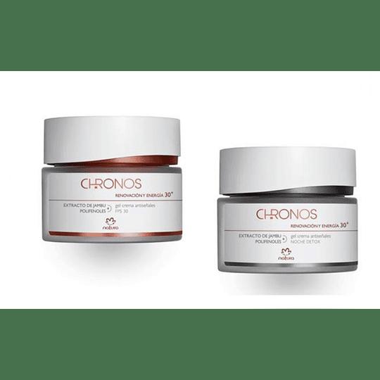Pack para Regalo: Gel Crema Antiseñales Chronos: 30+