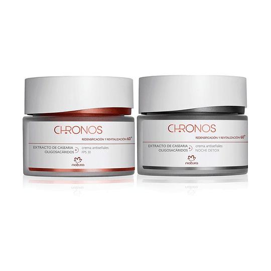 Pack para Regalo: Gel Crema Antiseñales Chronos: 60+