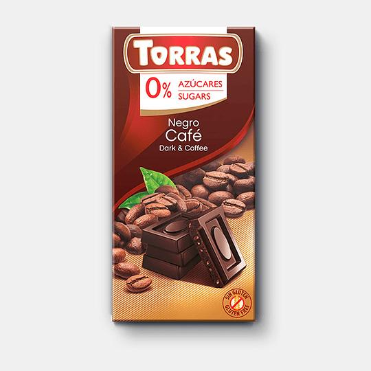 Barra de Chocolate Torras 75g - Café