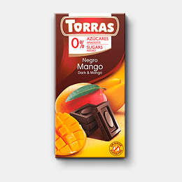 Barra de Chocolate Torras 75g - Mango
