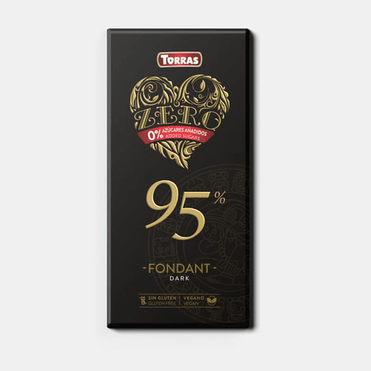 Barra de Chocolate Zero Torras - 95%