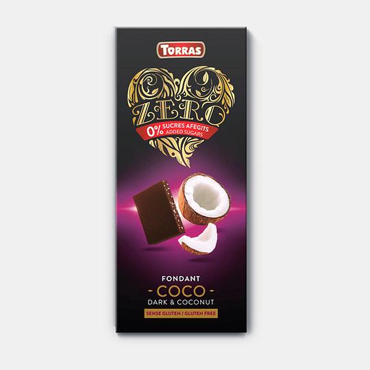 Barra de Chocolate Zero Torras - Coco