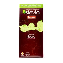 Barra de Chocolate Stevia Torras - Negro Amargo 60% Cacao
