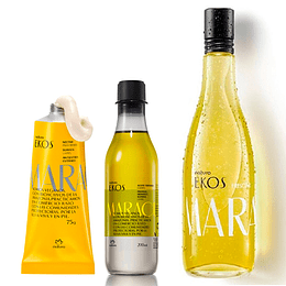 Pack Maracuyá: Frescor + Aceite Trifásico + Néctar para Manos