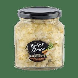 Salsa para Bruschetta Palmito, Esparrago & Almendra - Perfect Choice