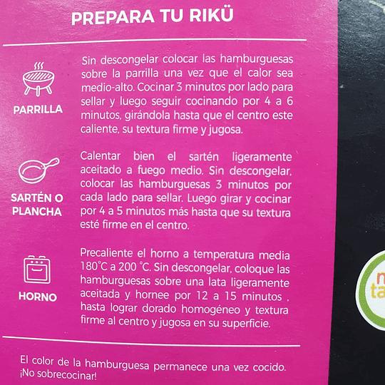 Hamburguesas Riku - Barbikiu
