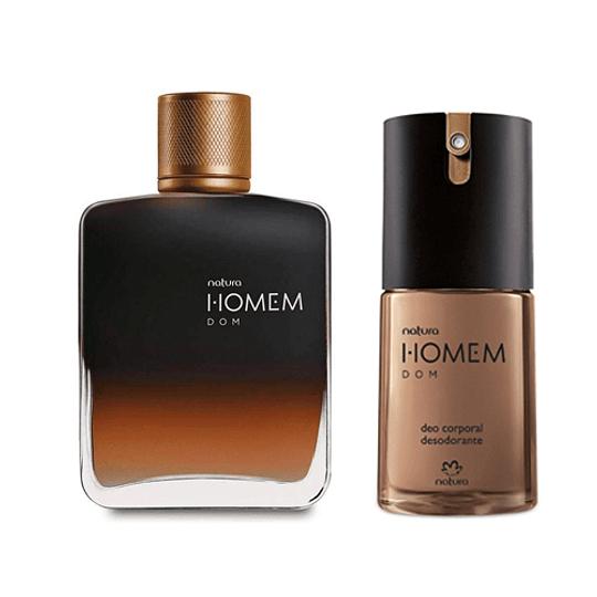 Pack Regalo Masculino: Perfume + Desodorante Corporal en Spray - Homem Dom, Natura