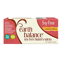 Barras de Mantequilla Earth Balance Sin Soya