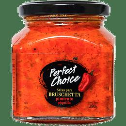 Salsa para Bruschetta Pimiento Piquillo - Perfect Choice