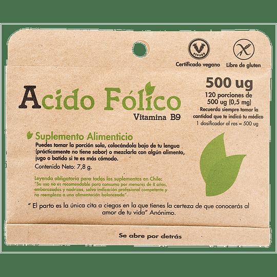 Ácido Fólico - Dulzura Natural