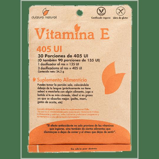 Vitamina E - Dulzura Natural