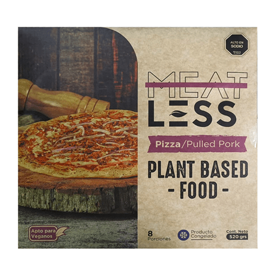 Pizza Pulled Pork - Meatless