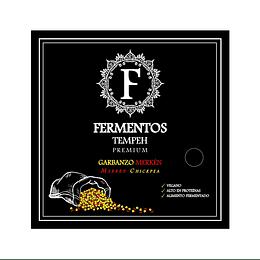 Tempeh de Garbanzos y Merkén 200g - Fermentos Chile