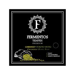 Tempeh de Garbanzos y Porotos Mung 200g - Fermentos Chile