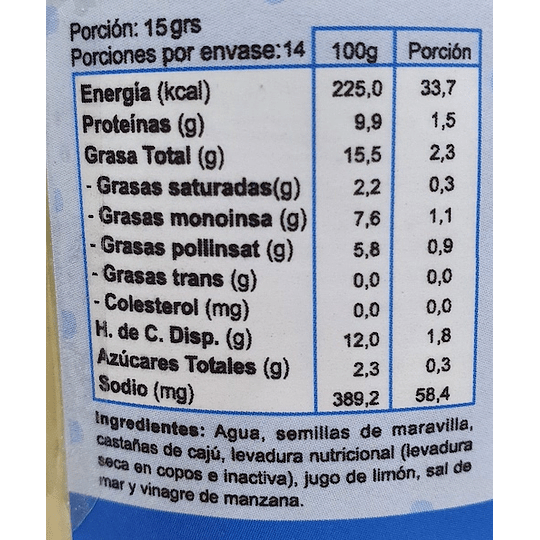 Dip Tipo Queso Crema: Original - Macrini