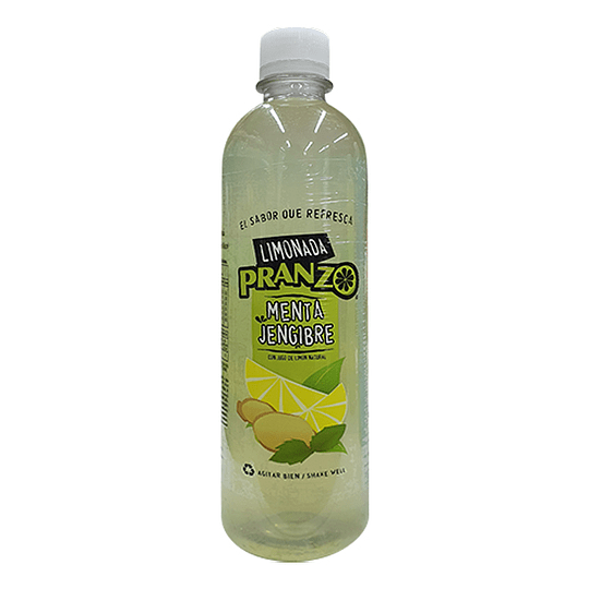 Limonada Menta Jengibre 475ml - Pranzo (botella plast.)