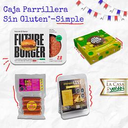 Caja Parrillera Sin Gluten SIMPLE - LCDV