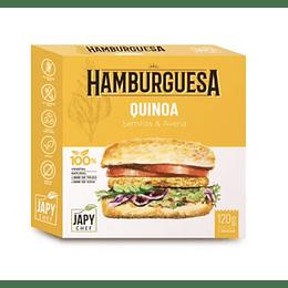 Hamburguesa de Quinoa - Japy Chef