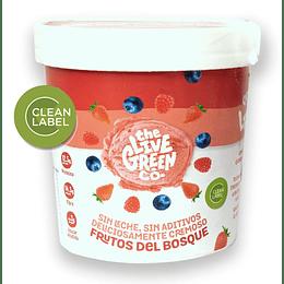 Helado Frutos del Bosque - The Live Green Co