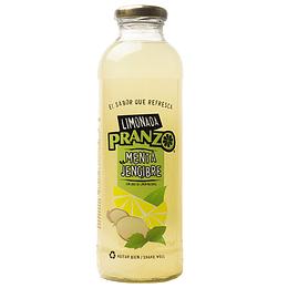 Limonada Menta Jengibre 475ml - Pranzo (botella vidrio)
