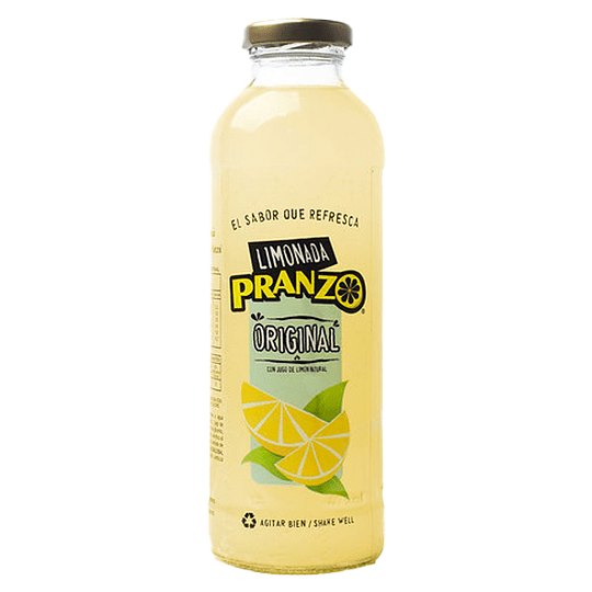 Limonada Original 475ml - Pranzo (botella vidrio)