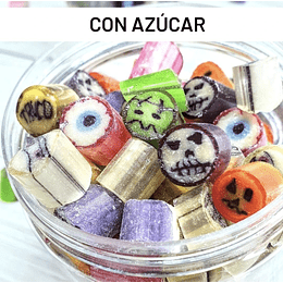 Caramelos de Halloween (con azúcar) - Con Caramelo