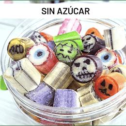 Caramelos de Halloween (SIN azúcar) - Con Caramelo