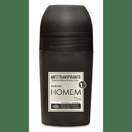 Desodorante Antitranspirante Roll-On Homem 75ml - Natura