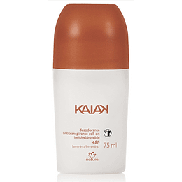 Desodorante Antitranspirante Roll-On Kaiak Invisible Clásico, Femenino - Natura