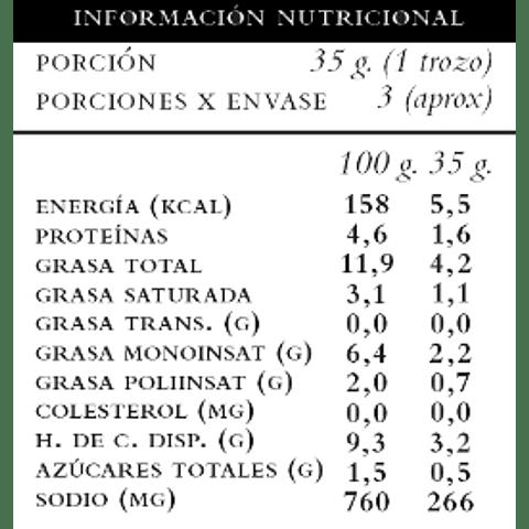 Parma de Castañas de Cajú - Pepilú