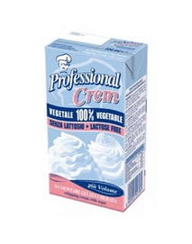 Crema Vegetal tipo Chantilly (1 litro) - Professional Crem