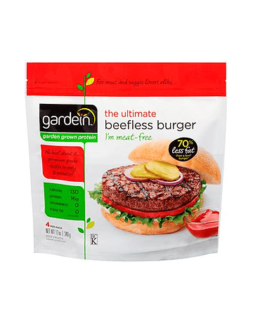 Gardein Hamburguesas Veganas (4 unidades)