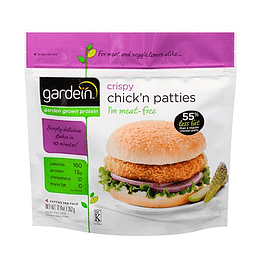 Crispy Chickn Patties (Hamburguesas tipo Pollo) - Gardein