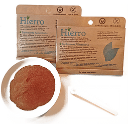 Hierro en polvo (11g) - Dulzura Natural