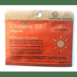 Vitamina D2 en polvo (5g) - Dulzura Natural