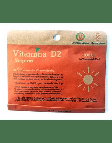 Vitamina D2 en polvo - Dulzura Natural (5g)
