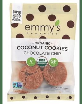 Galletas de coco con Chips de Chocolate