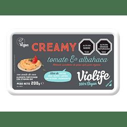 Violife Creamy: Tomate-Albahaca (200g)